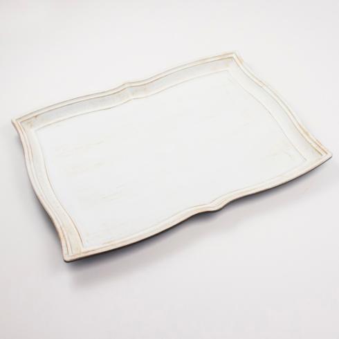 Royal Standard   ANTIQUE WHITE BRACKET TRAY $20.00