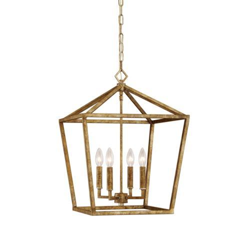 John Ward Exclusives  LIGHTING GOLD FOYER LIGHT $160.00