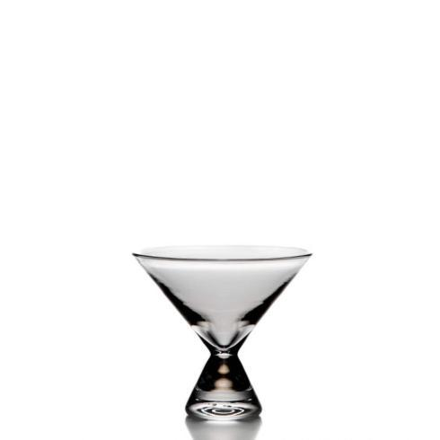 $75.00 WESTPORT STEMLESS MARTINI GLASS