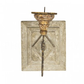 $173.25 ANETTE ANTIQUED SQUARE CANDLE SCONCE