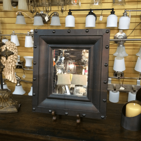 $94.00 ANTIQUE WALL MIRROR