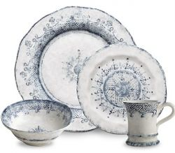 John Ward Exclusives  ARTE ITALICA - BURANO 4 PIECE PLACE SETTING $182.00