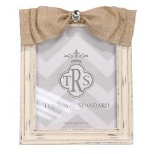 Royal Standard   BURLAP BOW FRAME - 8 X 10 $25.00