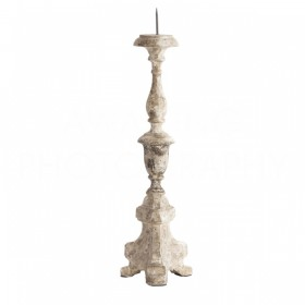 Aidan Gray   FREDERICK HAND CARVED CANDLESTICK $125.00