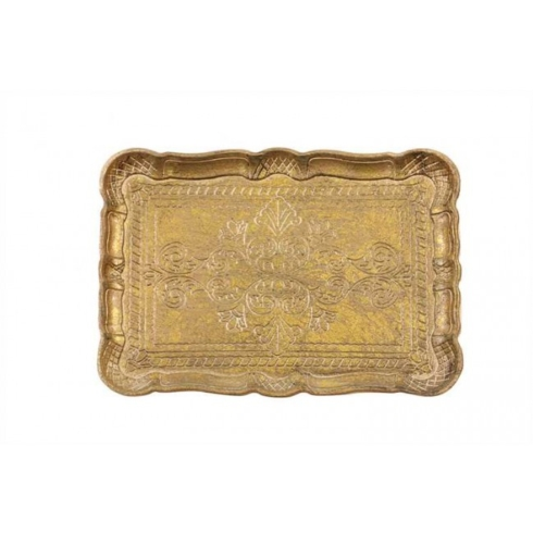 Creative Co-op   DECORATIVE WOODEN TRAY $16.00