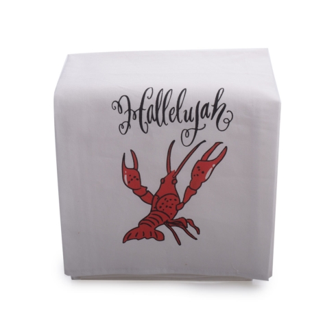 $10.00 HALLELUJAH CRAWFISH TEA TOWEL