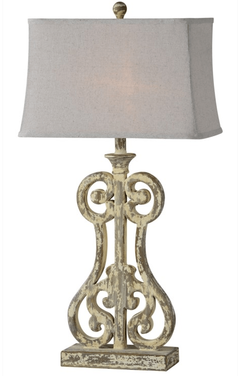 $125.00 HOLLY TABLE LAMP