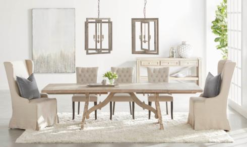 John Ward Exclusives  FURNITURE EXTENSION DINING TABLE $1,575.00
