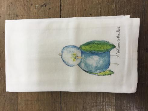 $15.00 WELCOME TO THE NEST TEA TOWEL