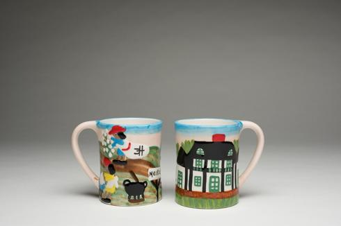 Clementine Hunter   A DAY AT MELROSE MUG $38.00