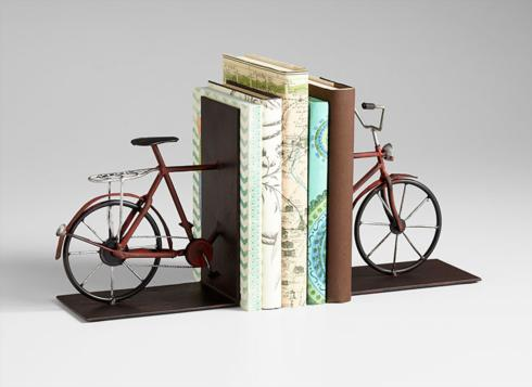 $74.00 PEDAL BOOKENDS