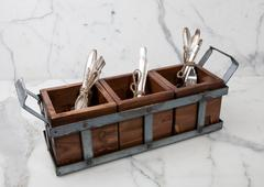 Europe2You   BORDEAUX SILVERWARE CADDY $145.00