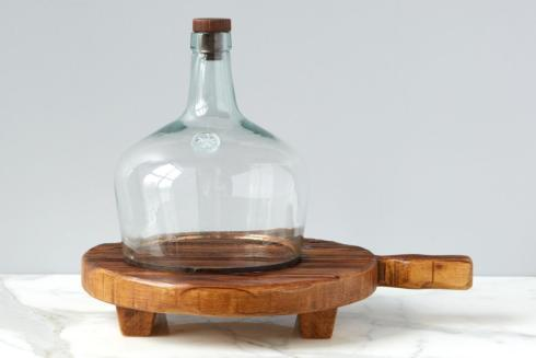 Europe2You   ROUND FOOTED SERVING BOARD $148.00