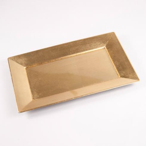 Royal Standard   GOLD VANITY TRAY - SMALL $8.00