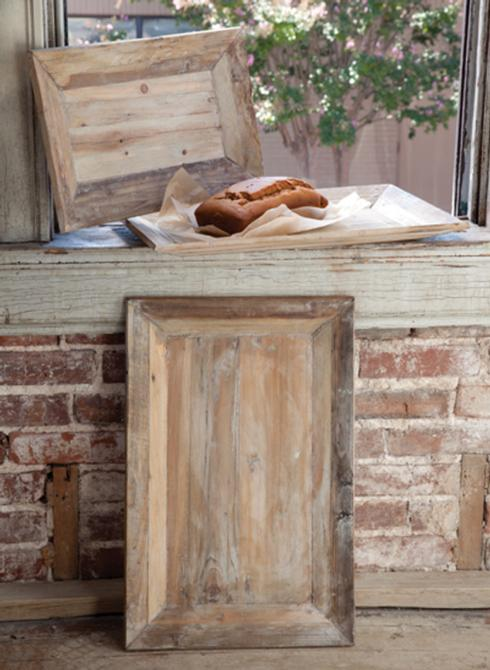 Park Hill Collection   MEDIUM RUSTIC RECTANGULAR TRAY $27.00