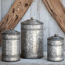 Park Hill Collection   METAL CANISTERS (SET OF 3) $44.00