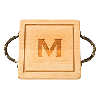 Maple Leaf at Home   CUSTOMIZED SQUARE CUTTING BOARD $137.00