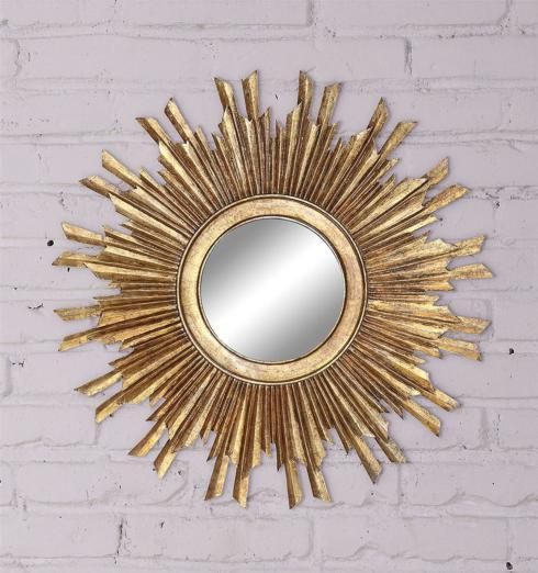 Creative Co-op   SUNBURST MIRROR $180.00
