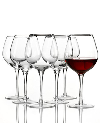 Lenox  TUSCANY RED WINE SET OF 6 $44.00