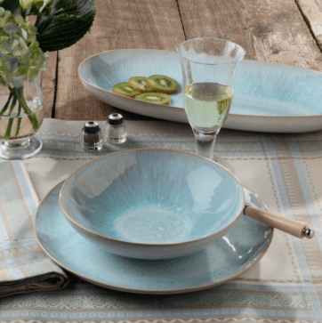 John Ward Exclusives  MISCELLANEOUS CASAFINA - IBIZA - SEA 4 PIECE PLACE SETTING $97.00