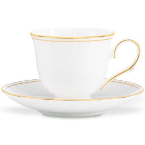 Lenox  FEDERAL GOLD TEA CUP AND SAUCER SET $40.00