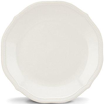 Lenox  FRENCH PERLE BEADED WHITE DINNER PLATE $19.95