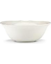 Lenox  FRENCH PERLE BEADED SERVING BOWL  $59.95