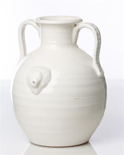 Abigails   TWO HANDLED JUG WITH LION $180.00