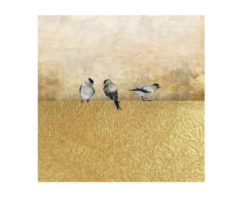Leftbank Art   GOLD BIRDS I  $145.00