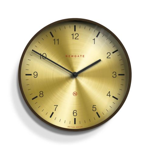 Newgate Clocks   MR. CLARKE BRASS CLOCK $115.00