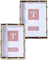 Two's Company   ROSE GOLD BAMBOO FRAME 4 X 6 $28.00