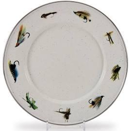 $13.99 Fishing Fly Sandwich Plate