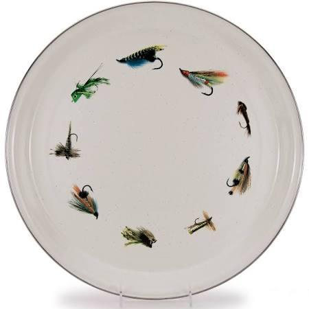 $54.99 Fishing Fly Medium Serve Tray