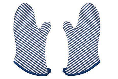 Now Designs   Superior Mitt- Narrow Stripe Royal $9.99