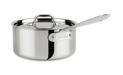 All-Clad   Stainless 3 Qt. Sauce Pan $119.99