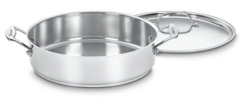 $39.99 Chef\'s Classic Stainless 3 Qt. Casserole w/ Lid