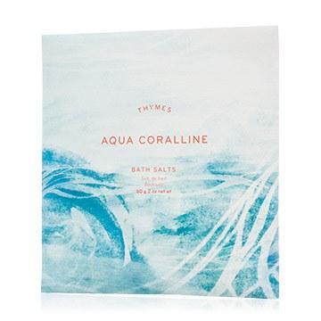 $5.99 AQUA CORALLINE BATH SALTS ENVELOPE