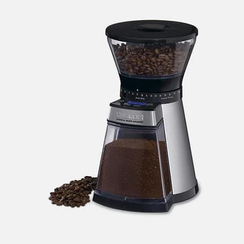 $99.99 Programmable Conical Burr Mill