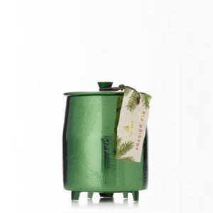 $30.99 FRASIER FIR GREEN GLASS CANDLE