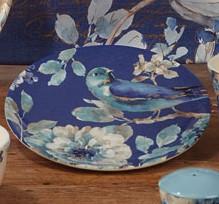 $12.99 Indigold Bird Dessert Plate