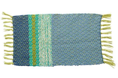 April Cornell   Blue Ridge Rib Placemat, Blue & Green $9.99