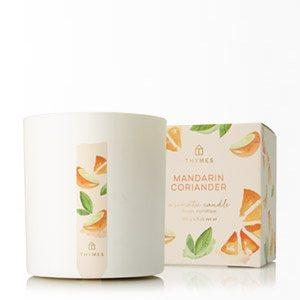 MANDARIN CORIANDER POURED CANDLE collection with 1 products