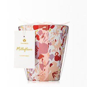 MILLEFLEUR FLOWER POT CANDLE collection with 1 products