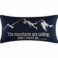 $44.99 The Mountains are Calling Pillow