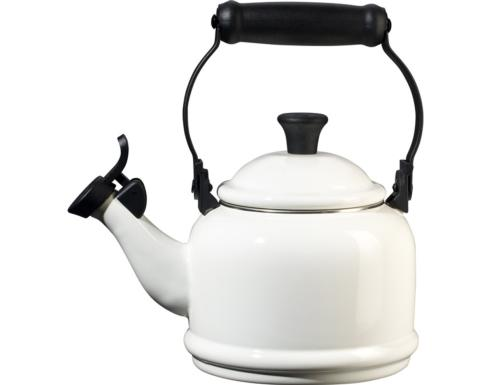 1.25 Qt. Demi Kettle, White collection with 1 products