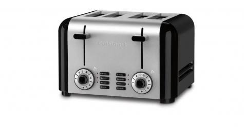 $59.99 Compact 4 Slice Stainless Toaster