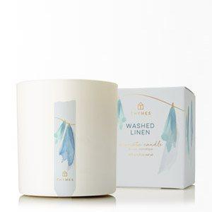 $24.99 WASHED LINEN POURED CANDLE