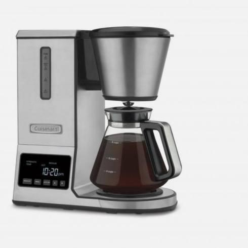 $179.99 Pure Precision 8 Cup Pour-Over Coffee Brewer with Glass Carafe
