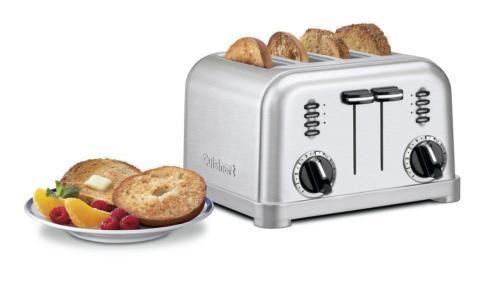 Cuisinart   4-Slice Metal Classic Toaster $69.99