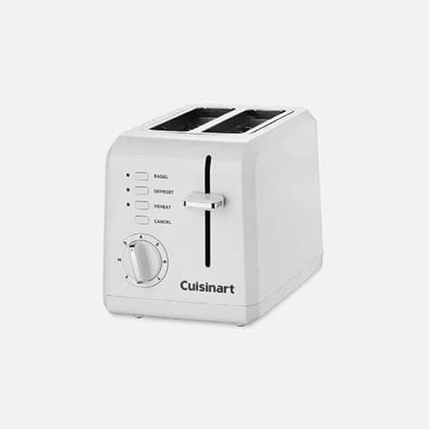 $29.99 2 Slice Compact Plastic Toaster